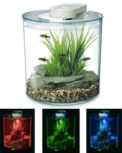 marina 360 aquarium LED Colours